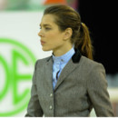 La queue de cheval équestre de Charlotte Casiraghi