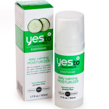 Yes to cucumbers : lotion pour le visage hydratante