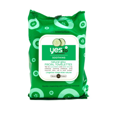 Yes to cucumbers : lingettes visage