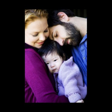 Katherine Heigl, Josh Kelley et leur fille Naleigh