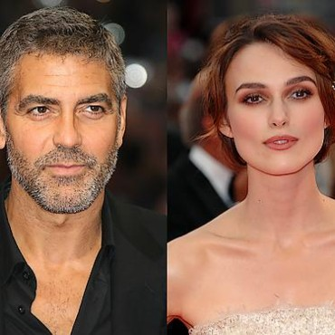 People : George Clooney et Keira Knightley