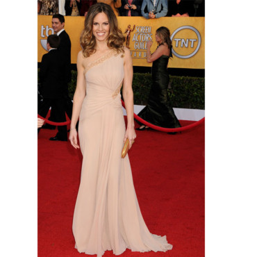 SAG Awards Hilary Swank en Versace