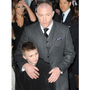 Guy Ritchie et son fils Rocco