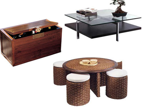 d coration les tables basses pratiques tendances d co d co. Black Bedroom Furniture Sets. Home Design Ideas