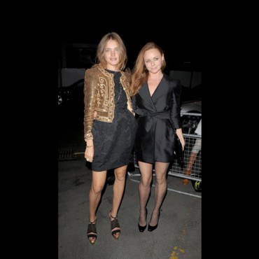 Natalie Vodianova et Stella McCartney