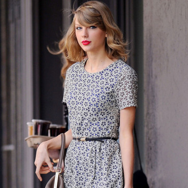 Taylor Swift dans les rues de New York le 9 avril 2014