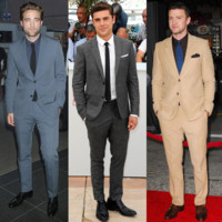 Zac Efron, Bradley Cooper, Ryan Gosling... fashion en costume