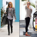 Miley Cyrus et son legging noir