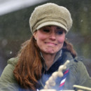 Kate Middleton dans un camp scout au Royaume Uni en mars 2013