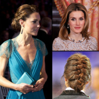 Kate Middleton... Coiffure de mariage, on s&#039;inspire des princesses