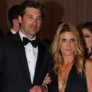 Patrick Dempsey et sa femme Jill Fink Alexander Mc Queen Savage Beauty au Moma mai 2011