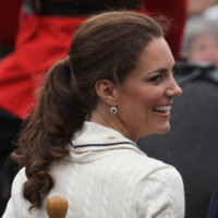 Kate Middleton et sa queue de cheval