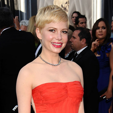 Michelle Williams Oscars 2012 coupe courte