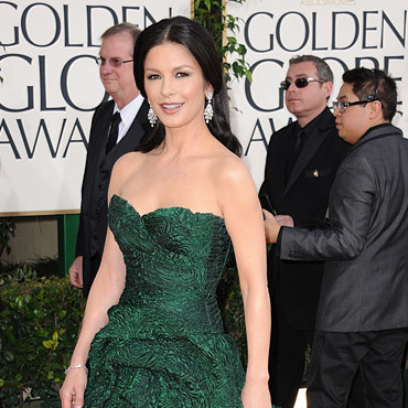 Catherine Zeta Jones en Monique Lhuillier