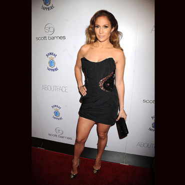 Look du jour Jennifer Lopez en Louis Vuitton