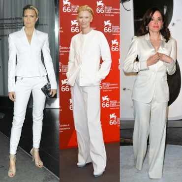 Star Style tailleur blanc