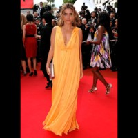 Photo : Vahina Giocante sur le tapis rouge