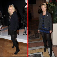 Photo : Virginie Efira et Estelle Lefébure