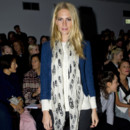Poppy Delevingne rock et décontract' à la Fashion Week de Londres