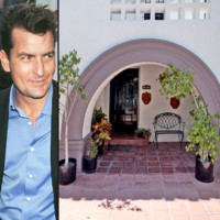 Visitez la villa de charme de Charlie Sheen !