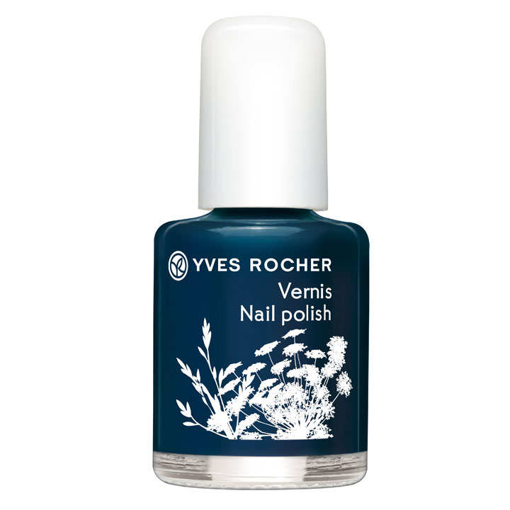 maquillage yves rocher t 2012 la collection colors le vernis ongles bleu nuit yves. Black Bedroom Furniture Sets. Home Design Ideas