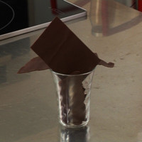 comment realiser fines feuilles choco