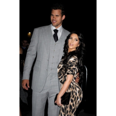 Kim-Kardashian-et Kris Humphries à la Kardashian Kollection Party aout 2011