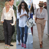Star Style : la chemise blanche, l&#039;atout styl des stars