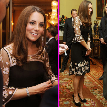 Kate Middleton en robe Alice Temperley