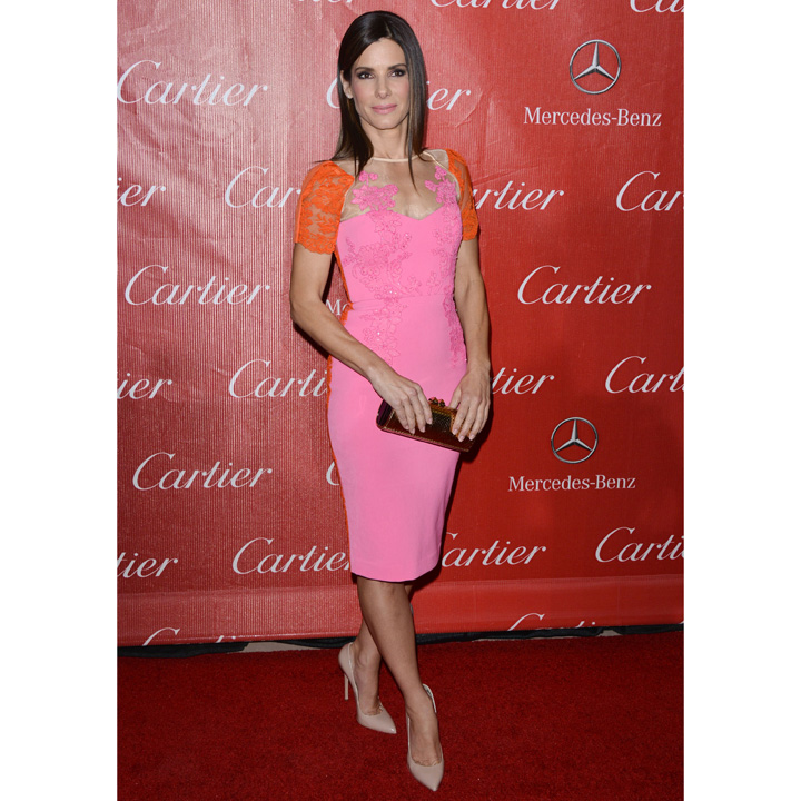 Sandra Bullock en Axel Perry à Palm Springs