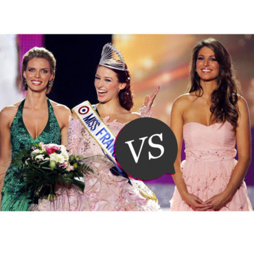 Laury Thilleman VS Delphine Wespiser match beauté Miss France 2012