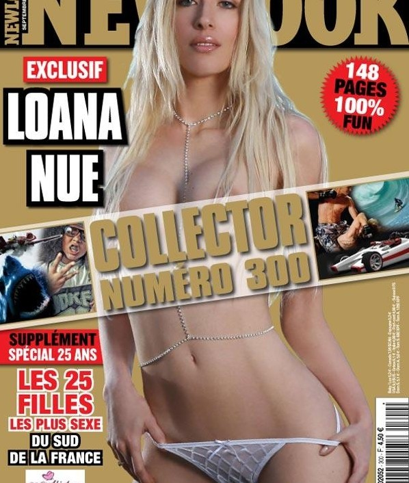 Couverture magazine New Look Loana