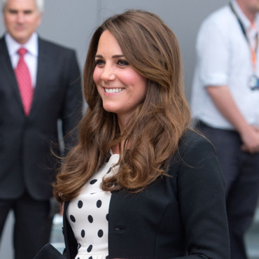 Kate Middleton, en visite au Warner Brothers Studios au Royaume Uni le 26 avril 2013