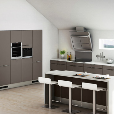 cuisine hygena d couvrez les nouveaut s 2012 cuisine hygena mod le city taupe d co. Black Bedroom Furniture Sets. Home Design Ideas
