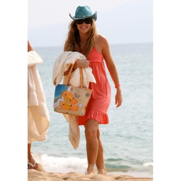 Denise Richards sur la plage