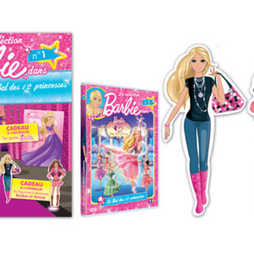 La collection DVD Barbie
