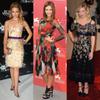 Mode de stars : elles craquent pour la robe fleurie !