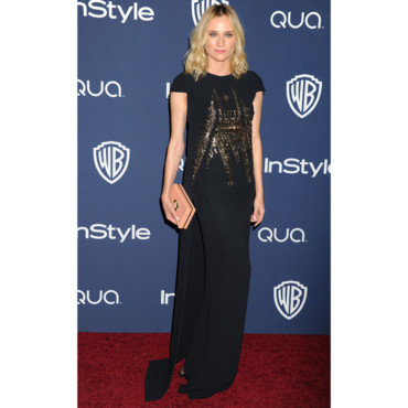 Diane Kruger lors de l'after Party InStyle des Golden Globes 2014 le 12 janvier à Los Angeles
