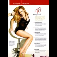 Photo : Hilary Duff, star du dernier Maxim