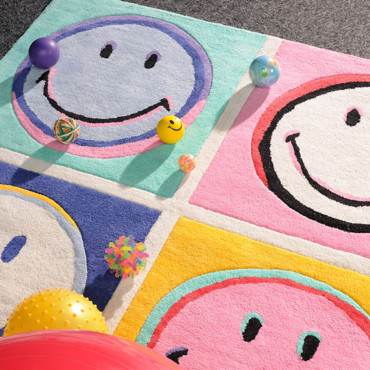 Tapis Andy Smiley - Smiley/Toulemonde Bochart