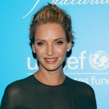 Uma Thurman au 7ème Snow Flake Ball de l'Unicef à New York le 29 novembre 2011