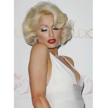 Paris Hilton en Marylin aout 2010