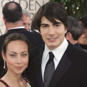 people :Brandon Routh et Courtney Ford