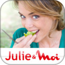 Julie Andrieu nous confie les secrets de son application cuisine