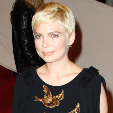 Michelle Williams et sa coupe courte