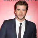 Liam Hemsworth lors d'une projection du deuxième volet de la saga Hunger Games à New York en novembre 2013