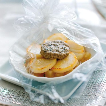 1 Coquille St-Jacques truffe en papillote Picard