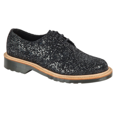 Doc Martens Eye Shoe Black Sequel Glitter à 320 euros