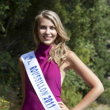 Miss Rousillon 2011 - Julie Vialo - Candidate Election Miss France 2012