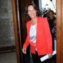Segolene Royal et sa veste rouge